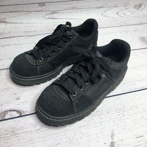 90s Skechers Black Lace Up Shoes Sz 8